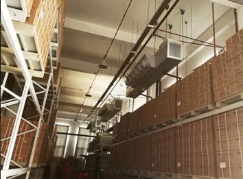 厂房专用传统空调与直膨机空调系统设计、制作方案、施工安装